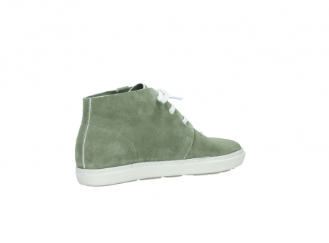 wolky bottines a lacets 09460 columbia 40700 suede vert_11