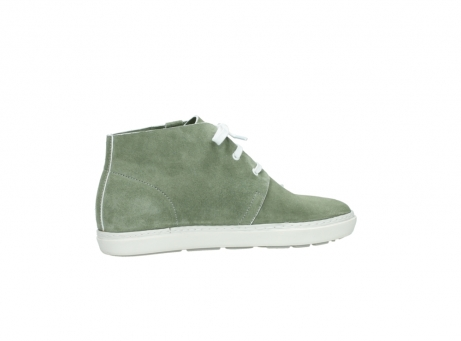 wolky bottines a lacets 09460 columbia 40700 suede vert_12