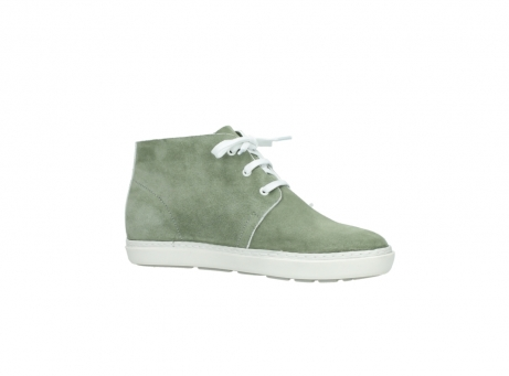 wolky bottines a lacets 09460 columbia 40700 suede vert_15