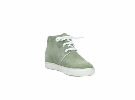 wolky bottines a lacets 09460 columbia 40700 suede vert_17