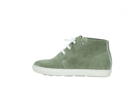 wolky bottines a lacets 09460 columbia 40700 suede vert_2