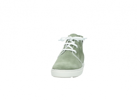 wolky lace up boots 09460 columbia 40700 green suede_20