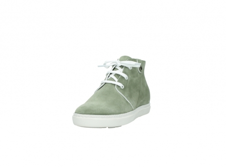 wolky bottines a lacets 09460 columbia 40700 suede vert_21