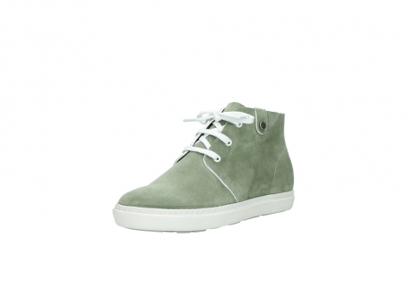 wolky bottines a lacets 09460 columbia 40700 suede vert_22