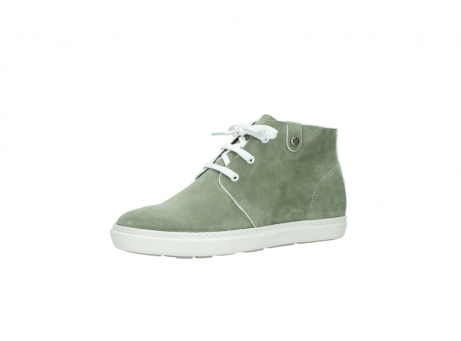 wolky bottines a lacets 09460 columbia 40700 suede vert_23