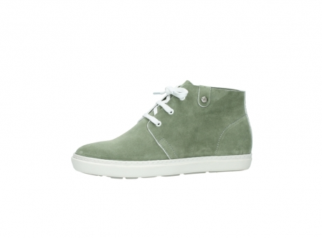 wolky bottines a lacets 09460 columbia 40700 suede vert_24