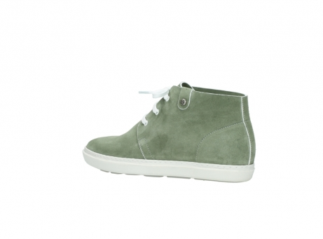 wolky bottines a lacets 09460 columbia 40700 suede vert_3