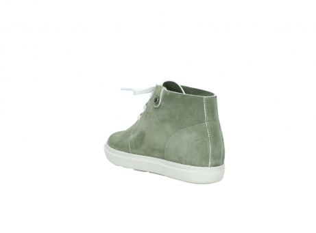 wolky bottines a lacets 09460 columbia 40700 suede vert_5