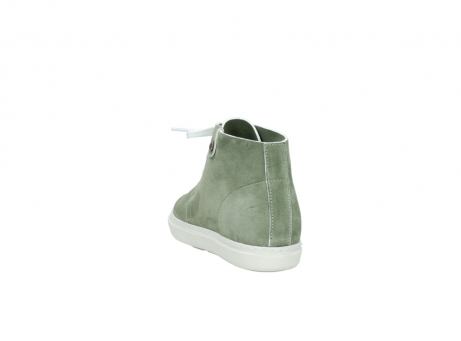 wolky bottines a lacets 09460 columbia 40700 suede vert_6