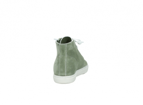 wolky bottines a lacets 09460 columbia 40700 suede vert_8