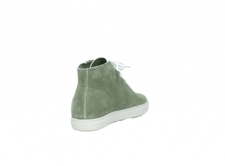wolky bottines a lacets 09460 columbia 40700 suede vert_9
