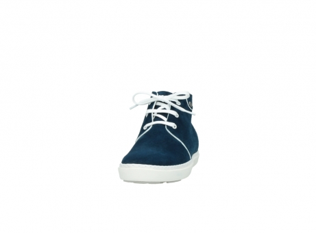 wolky lace up boots 09460 columbia 40820 denim suede_20
