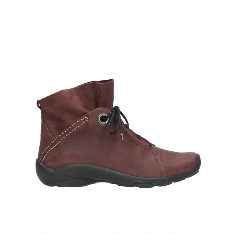 wolky veterboots 1657 diana 551 bordeaux geolied leer