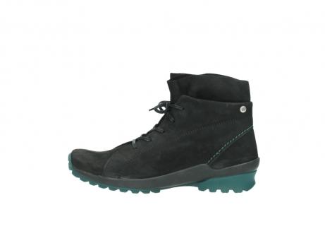 wolky boots 1730 denali 503 schwarz grun geoltes leder_1