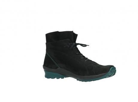wolky boots 1730 denali 503 schwarz grun geoltes leder_15
