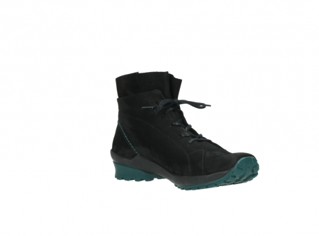 wolky boots 1730 denali 503 schwarz grun geoltes leder_16