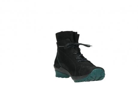 wolky boots 1730 denali 503 schwarz grun geoltes leder_17