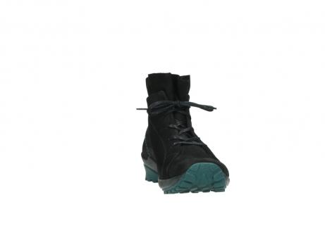 wolky boots 1730 denali 503 schwarz grun geoltes leder_18