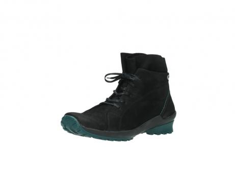 wolky boots 1730 denali 503 schwarz grun geoltes leder_22