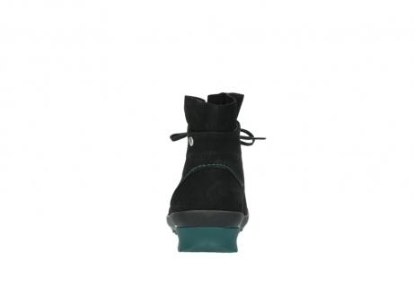 wolky boots 1730 denali 503 schwarz grun geoltes leder_7