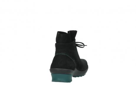 wolky boots 1730 denali 503 schwarz grun geoltes leder_8