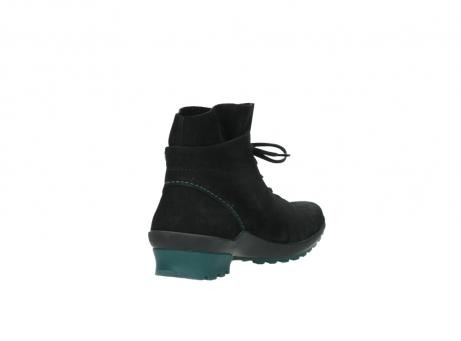 wolky boots 1730 denali 503 schwarz grun geoltes leder_9