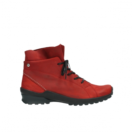 wolky boots 1730 denali 550 rot geoltes leder