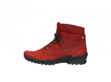 wolky boots 1730 denali 550 rot geoltes leder_1