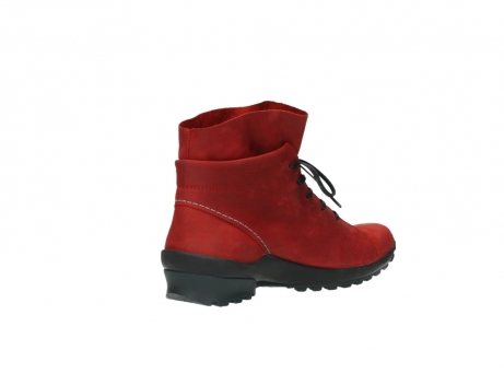 wolky boots 1730 denali 550 rot geoltes leder_10