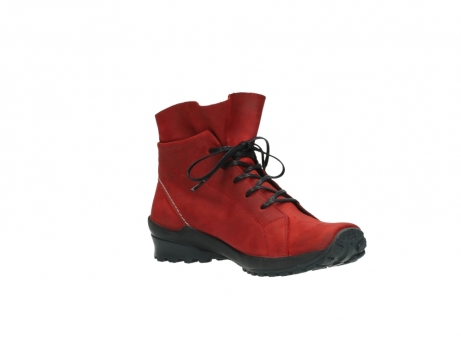 wolky boots 1730 denali 550 rot geoltes leder_16