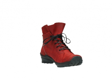 wolky boots 1730 denali 550 rot geoltes leder_17