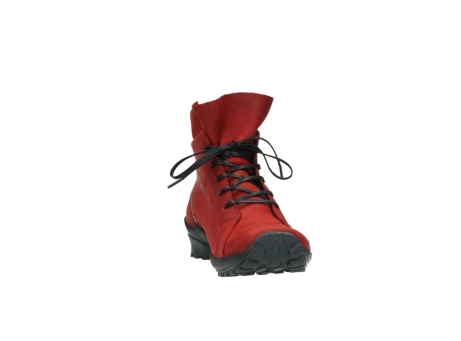wolky boots 1730 denali 550 rot geoltes leder_18
