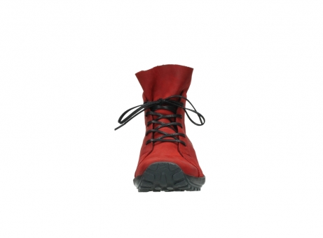 wolky boots 1730 denali 550 rot geoltes leder_19