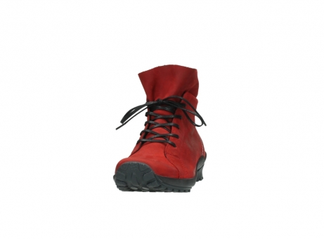 wolky boots 1730 denali 550 rot geoltes leder_20