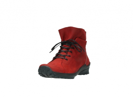 wolky boots 1730 denali 550 rot geoltes leder_21