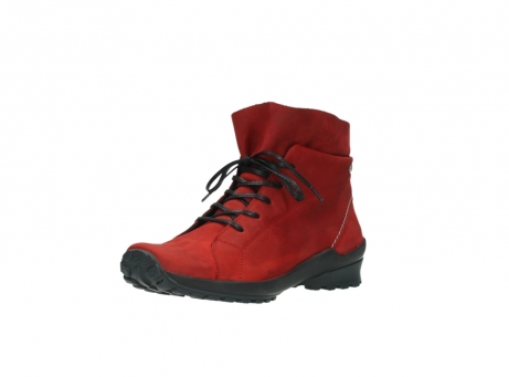 wolky boots 1730 denali 550 rot geoltes leder_22