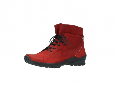 wolky boots 1730 denali 550 rot geoltes leder_23