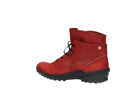 wolky boots 1730 denali 550 rot geoltes leder_3