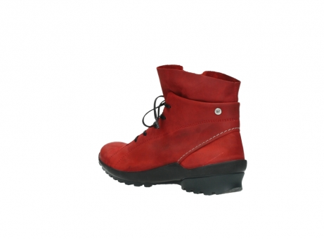 wolky boots 1730 denali 550 rot geoltes leder_4