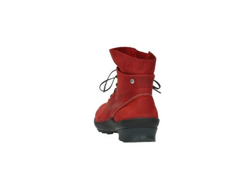 wolky boots 1730 denali 550 rot geoltes leder_6
