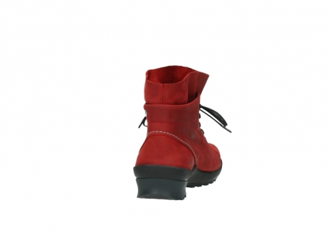 wolky boots 1730 denali 550 rot geoltes leder_8