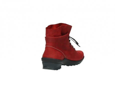 wolky boots 1730 denali 550 rot geoltes leder_9