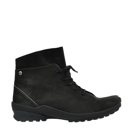 wolky boots 1734 denali cw 500 schwarz geoltes leder cold winter warmfutter
