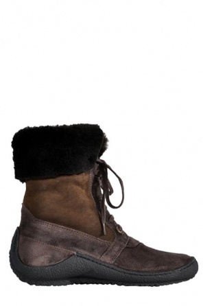 wolky boots 2751 cona 430 braun geoltes veloursleder