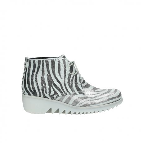 wolky boots 3810 dusky 912 zebra print metallic leder
