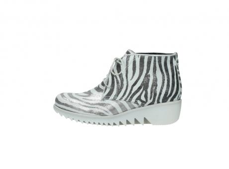 wolky boots 3810 dusky 912 zebra print metallic leder_1