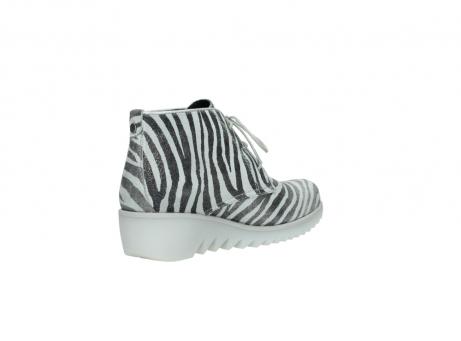 wolky boots 3810 dusky 912 zebra print metallic leder_10
