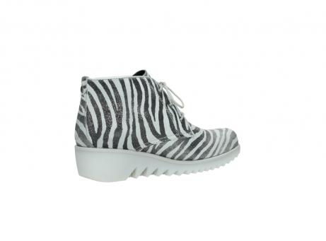 wolky boots 3810 dusky 912 zebra print metallic leder_11