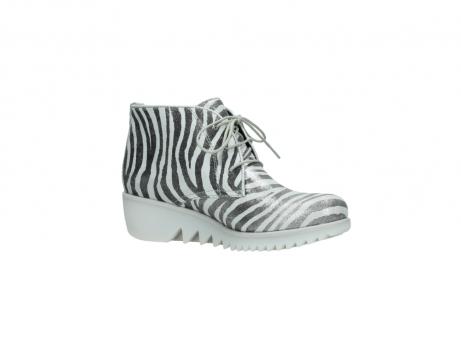 wolky boots 3810 dusky 912 zebra print metallic leder_15