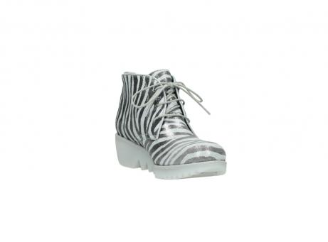 wolky boots 3810 dusky 912 zebra print metallic leder_17